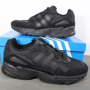 Adidas Yung-96 Black Carbon Sneakers Size 12